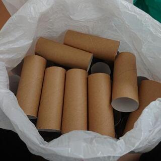 トイレットペーパーの芯・茶色36個
