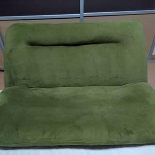 ソファ 1~2名掛け用 緑色(グリーン)