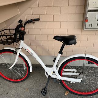 自転車 パンクしてます。スタンドがないです。