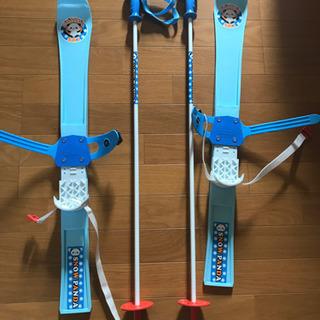 子供用スキー板&スノーブーツ