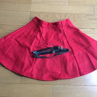 新品 ベルト付きスカート