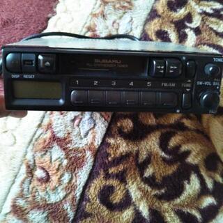 スバル 純正★懐かし カセットテープ カーオーディオ