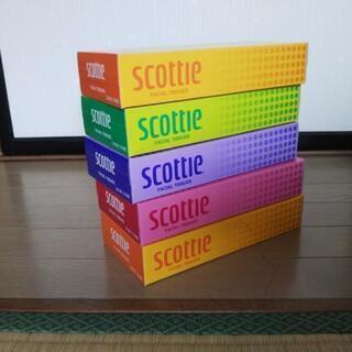 BOXティッシュ5箱の画像