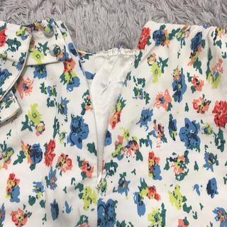 花柄スカート 小花柄 タイトミニ
