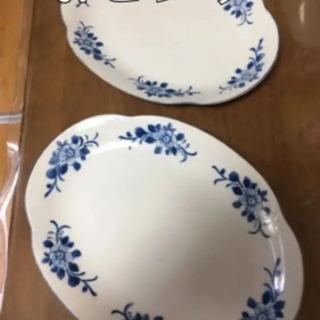 昭和レトロな大皿 2枚セット