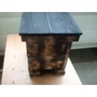 日本蜜蜂巣箱 スリム型(◆置くだけ・すぐ使えます、早く蜜が取れま...