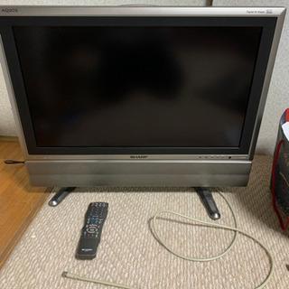 シャープ 26インチ テレビ