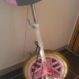 ブリヂストン 子供用一輪車 スタンド付
