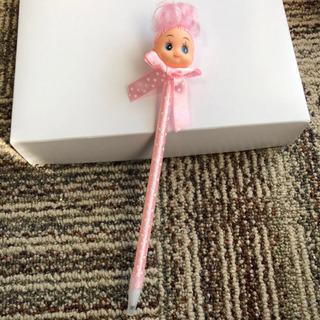 お人形ペン