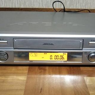 東芝カセットVTR A-F11 ARENA アリーナ ビデオデッキ