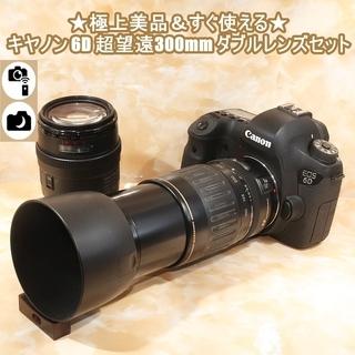 ★極上美品&すぐ使える★キヤノン 6D 超望遠300mm ダブル...