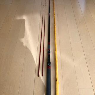 イカダ竿とダンゴ尺セット
