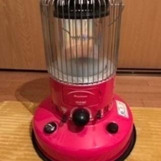 トヨトミ 石油ストーブ 限定色ピンク