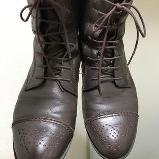 大丸で購入したブーツ ミスホライズンMISS+HORIZON