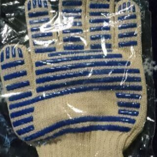 新品未使用の耐熱性手袋