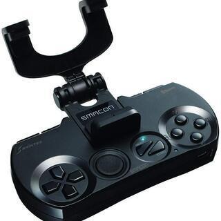 【新品】 スマホ用ゲームコントローラー PCでも使用できます!