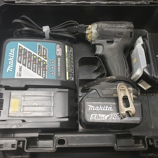 【中古】マキタ インパクト ドライバー TD148DRTXB 1...