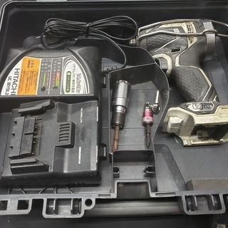 【中古】日立 WH14DDL インパクトドライバー 本体+充電器