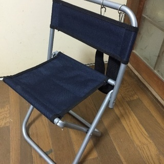 アルミパイプ折りたたみ椅子 キャンプ等に