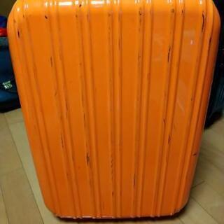 キャリーケース/スーツケース オレンジ 2泊〜3泊用