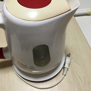 【お渡しする方が決まりました】電子湯沸かしケトル1リットル