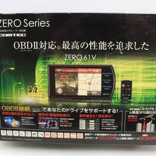 [ジャンク品] コムテック レーダー探知機 ZERO 61V