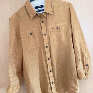 【早い者勝ち!!!】BOYCOTT 襟付きシャツ 長袖  ブラウン