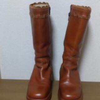 Simonetta 33サイズ☆高級子供靴20~21センチ