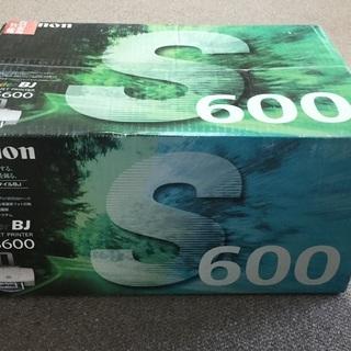 Canon インクジェットプリンター BJ S600 未開封新品