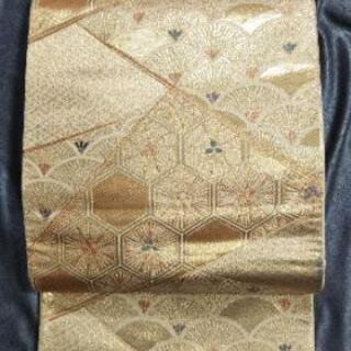 👘 高級 正絹 フォーマル 袋帯 ★格調高い柄行