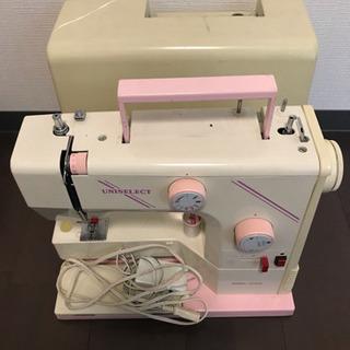 ミシン   UNISELECT MODEL 370FE ピンク