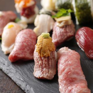 個人経営の肉寿司居酒屋のスタッフ募集