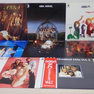 ABBA / アバ 名盤 オリジナルLP6枚(3作目~ラスト8作...
