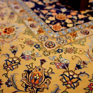 シルクロード手織絨毯展