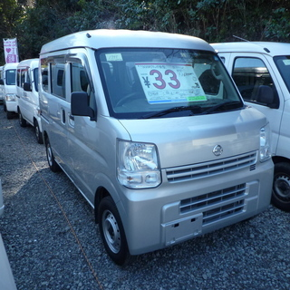 NV100クリッパー新型 平成27年 車検2年付 33万円…