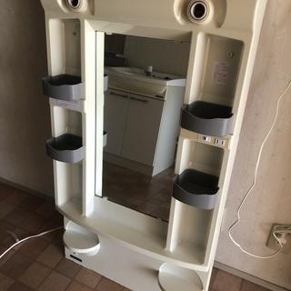 クリナップ 洗面台+ミラーキャビネット 取りに来ていただける方に...