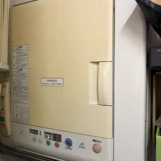 【2月24日まで】日立 乾燥機 簡単な修理で治るジャンク品のため...