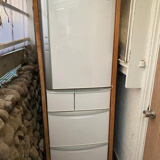 ナショナル5ドア冷蔵庫2007年自動製氷機付き差し上げます