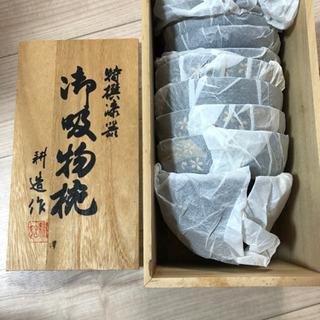 【新品未使用木箱入り】特選漆器 御吸物椀(蓋付5個組)