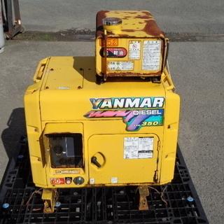 ヤンマー ディーゼル発電機 YDG350SS 100V 6…