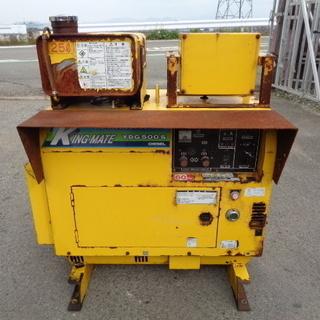 ヤンマー ディーゼル発電機 YDG500S 100V 60…