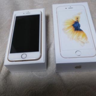 極美品!保証期間ありiPhone6s SIMロック解除済み。
