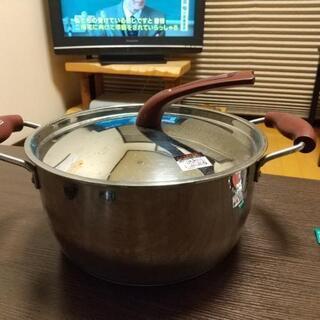 両手鍋  深型  ガス火用
