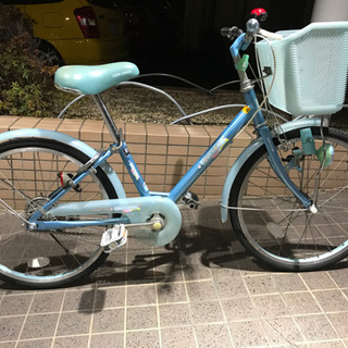 女の子用 20インチ 自転車 キレイです