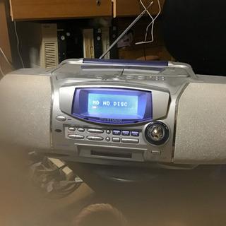 sharp  MD  CDラジオカセット