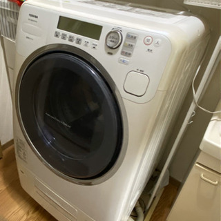 【お譲りします】TOSHIBA ドラム式洗濯乾燥機 TW-2500VC