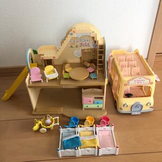 シルバニア 幼稚園セット