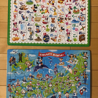 ディズニー 知育パズル 2種セット