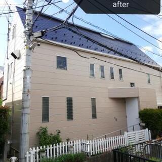 😲‼️屋根、外壁、付帯部全塗装して25坪60万円😲‼️