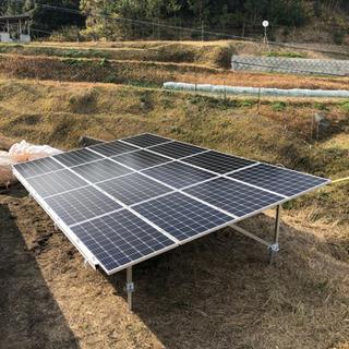 日当2万円 太陽光発電所、測量、墨出し業務の画像